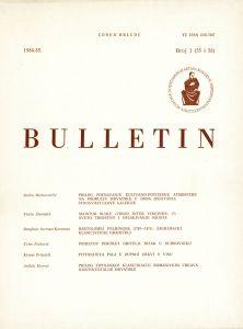 Br. 1(55 i 56) (1984-85) : Bulletin Razreda za likovne umjetnosti Jugoslavenske akademije znanosti i umjetnosti
