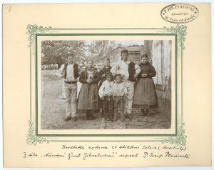 Kmetska obitelj iz zadruge Škarić (Montrilj) [Ptašinsky, Josef (1863-1908) ]