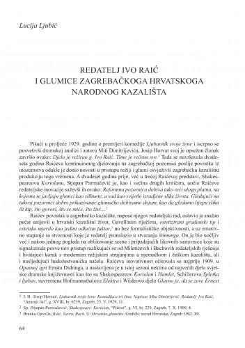 Redatelj Ivo Raić i glumice zagrebačkoga Hrvatskoga narodnog kazališta : Krležini dani u Osijeku