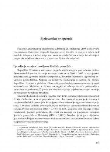 Bjelovarsko priopćenje