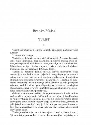 Turist : Forum : mjesečnik Razreda za književnost Hrvatske akademije znanosti i umjetnosti.