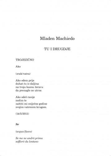 Tu i drugdje : Forum : mjesečnik Razreda za književnost Hrvatske akademije znanosti i umjetnosti.