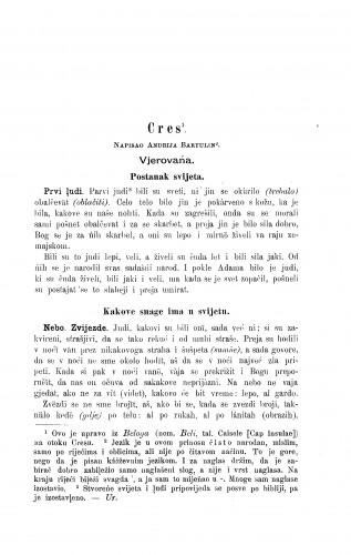 Cres / A. Bartulin