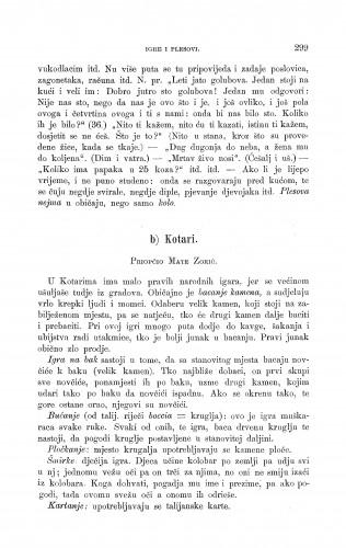 Kotari : igre i plesovi : Zbornik za narodni život i običaje
