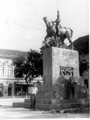 Augustinčić, Antun (1900-1979) : Spomenik kralju Aleksandru u Somboru