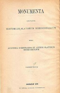 Knj. 6 : Od godine 1409 do 1412 : Monumenta spectantia historiam Slavorum meridionalium