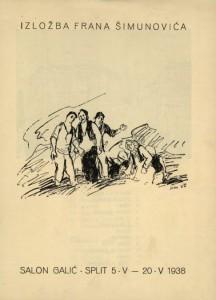 Izložba Frana Šimunovića