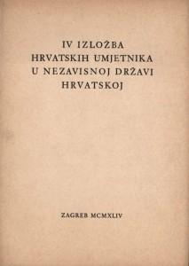 IV izložba hrvatskih umjetnika u Nezavisnoj državi Hrvatskoj