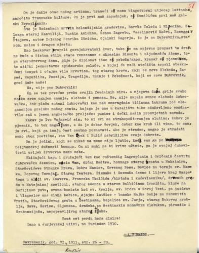 Ivi Vojnoviću : o dvadesetpetogodišnjici književnikovanja