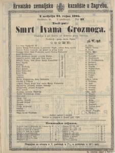 Smrt Ivana Groznoga tragedija u pet činova / od Alekseja grofa Tolstoja