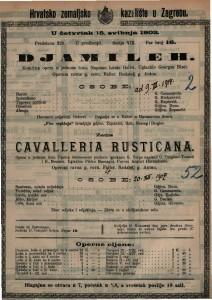 Djamileh : komična opera u jednom činu / uglazbio Georges Bizet