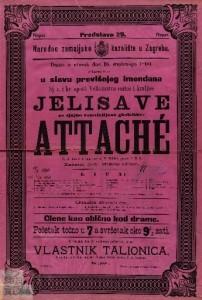Attache Vesela igra u 3 čina / napisao H. Meilhac