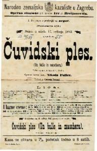 Čuvidski ples Velika opera u 3 čina / od G. Verdi-a