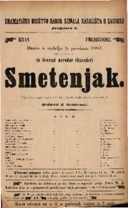 Smetenjak Šaljiva igra s pjevanjem u 3 čina / Napisao Julio rozen