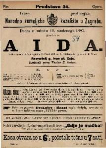 Aida Velika opera u 4 činu / uglasbio G. Verdi
