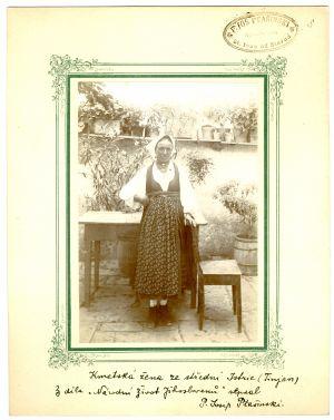 Kmetska žena iz srednje Istre (Tinjan) [Ptašinsky, Josef (1863-1908) ]
