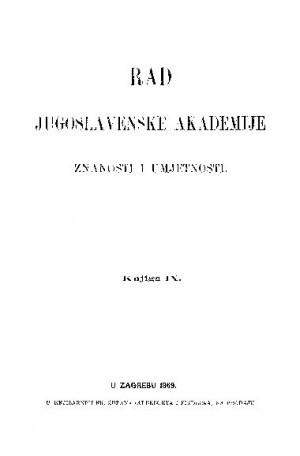 Knj. 9(1869) : RAD
