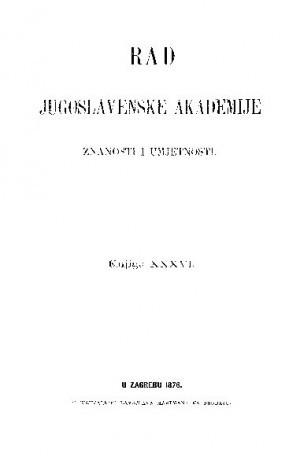 Knj. 36 (1876) : RAD