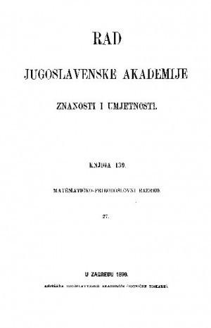 Knj. 27(1899) : RAD