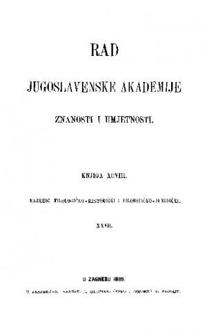 Knj. 27(1889) : RAD