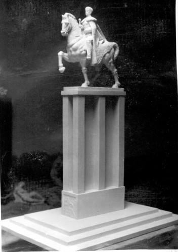 Radauš, Vanja (1906-1975) : Skica za spomenik kralju Petru u Sarajevu
