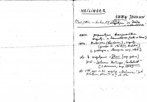 Heilinger Johann orguljar iz Beča