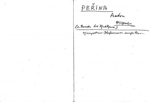 Peřina Anton iz Bresta kod Ljubljane