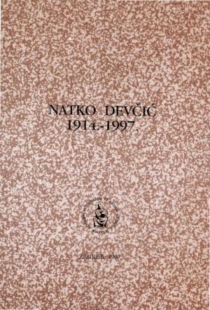 Natko Devčić : 1914.-1997. : Spomenica preminulim akademicima