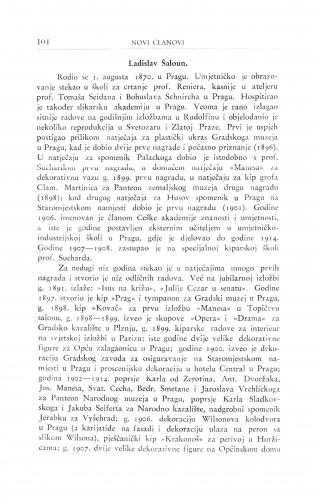 Ladislav Šaloun / R. Frangeš Mihanović