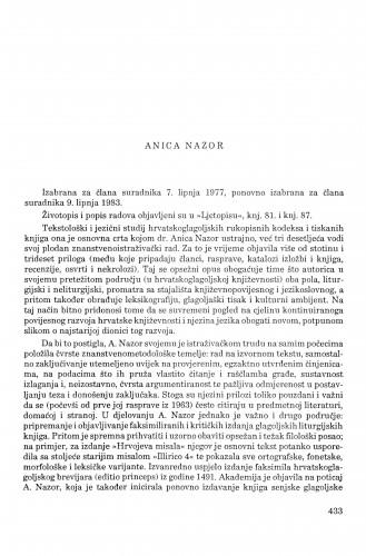 Anica Nazor