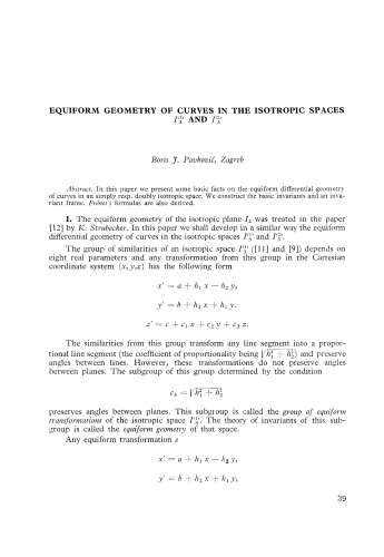 Equiform geometry of curves in the isotropic spaces I3(1) i I3(2)