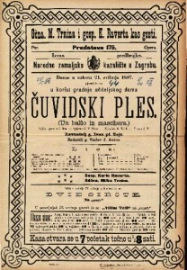 Čuvidski ples Velika opera u 3 čina / Uglasbio G. Verdi