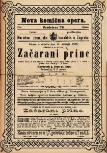 Začarani princ : Komična opera u 3 čina