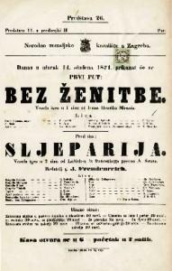 Bez ženitbe Vesela igra u 1 činu / od Ivana Henrika Mirania