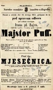 Majstor Puff Šaljiva opereta u 1 činu