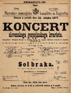 Koncert slovenskoga gospojinskoga kvarteta