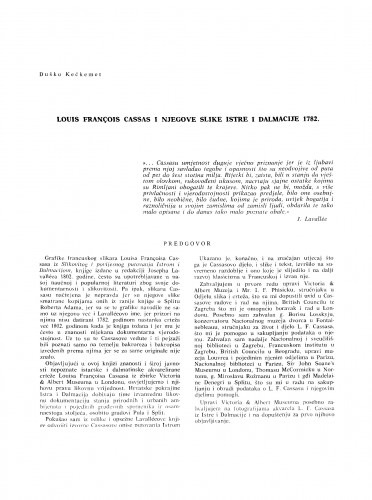 Louis François Cassas i njegove slike Istre i Dalmacije 1782.