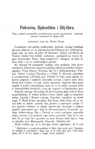 Podravina, Djakovština i Dilj-Gora : RAD