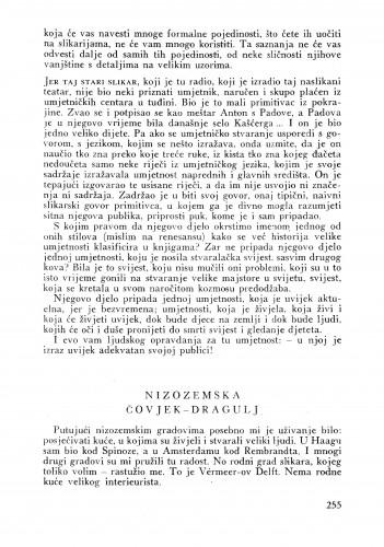 Nizozemska : čovjek-dragulj : Bulletin Instituta za likovne umjetnosti Jugoslavenske akademije znanosti i umjetnosti