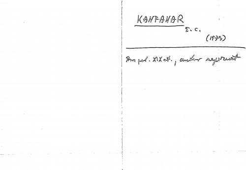 Kanfanar ž. c.