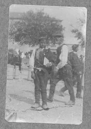 Ivan Meštrović u dobi od 13 godina