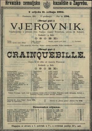 Crainquebille gluma u tri slike / od Anatola France-a