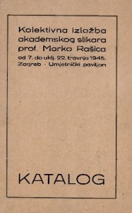 Kolektivna izložba akademskog slikara prof. Marko Rašica