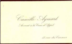Camille Aymard avocat a la Cour d'Appel