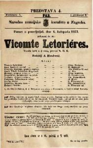 Vicomte Letorieres Vesela igra u 3 čina