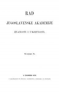Knj. 10(1870) : RAD
