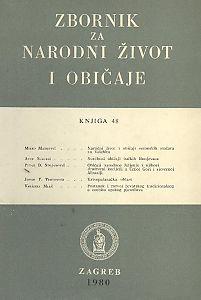 Knj. 48. (1980) : Zbornik za narodni život i običaje