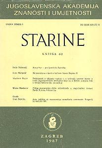 Knj. 60 (1987) : Starine