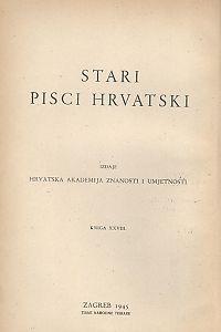 Knj. 2 : Korablica : Stari pisci hrvatski