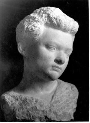 Bakić, Vojin (1915-1992) : Studija glave [Firšt, Rudolf  ]